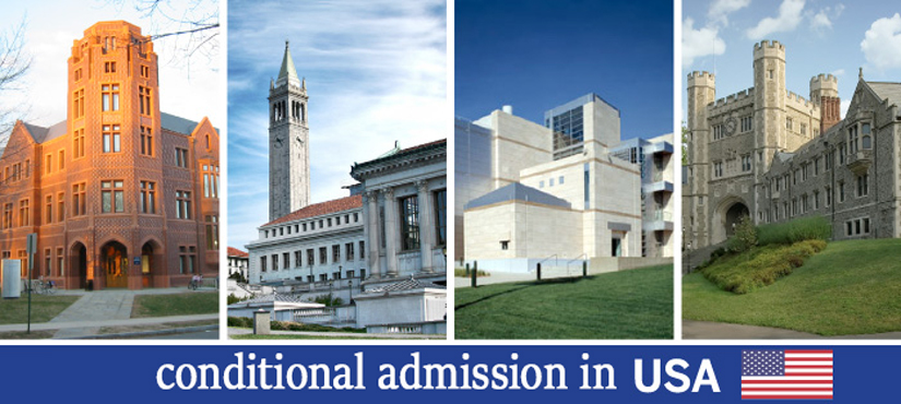 پذیرش تحصیلی مشروط آمریکا، بدون مدرک زبان و شرایط آن | آسان کارت