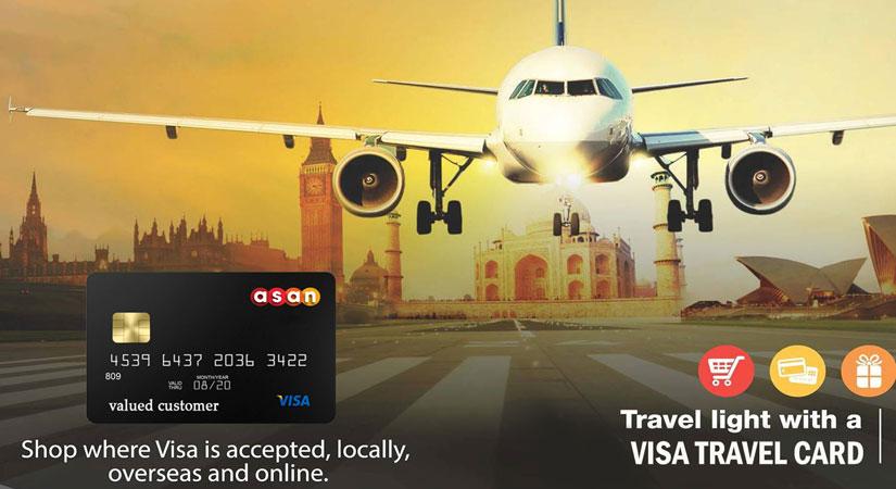ویزا کارت مسافرتی | آسان کارت