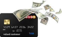 شارژ فوری ویزا کارت مسافرتی قابل شارژ | آسان کارت