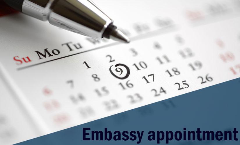پرداخت هزینه تعیین وقت سفارت امریکا | آسان کارت