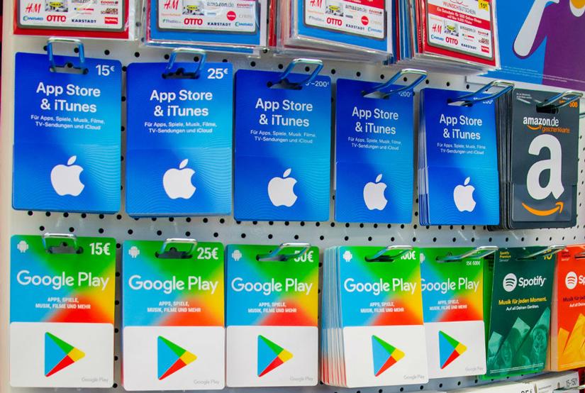 خرید از سایتهای Google play، Microsoft، iTunes، ... | آسان کارت