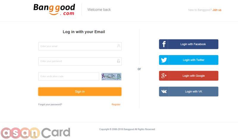 خرید مستقیم گوشی از  Banggood | آسان کارت