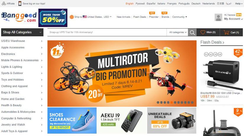 چگونه از سایت بنگگود Banggood خرید کنیم؟ | آسان کارت