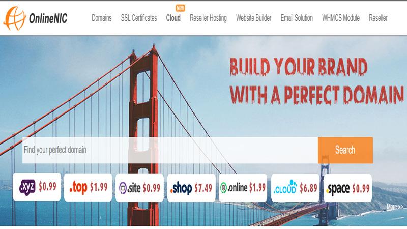 خرید دامنه و هاست از  سایت OnlineNic | آسان کارت