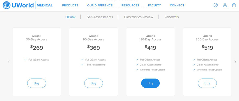 طرح های پولی QBank آزمونUSMLE | آسان کارت