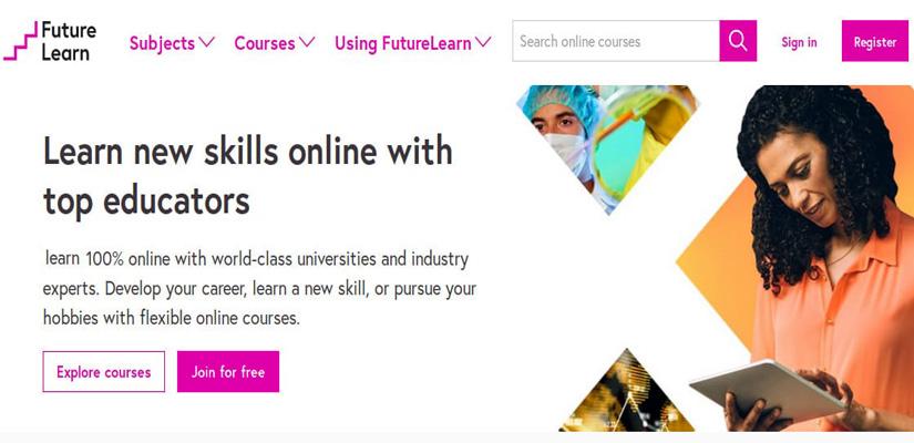 دوره های آموزشی آنلاین رایگان در FutureLearn | آسان کارت