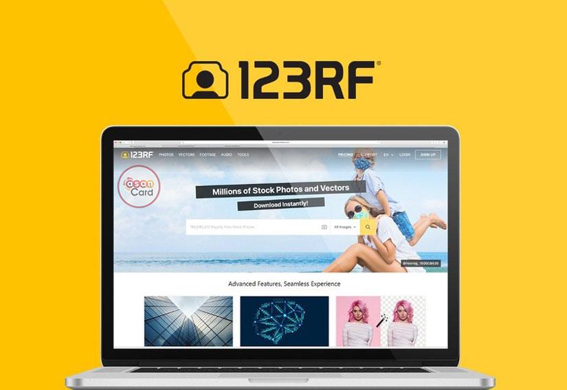 خرید و دانلود عکس از سایت 123RF و کسب درآمد دلاری | آسان کارت